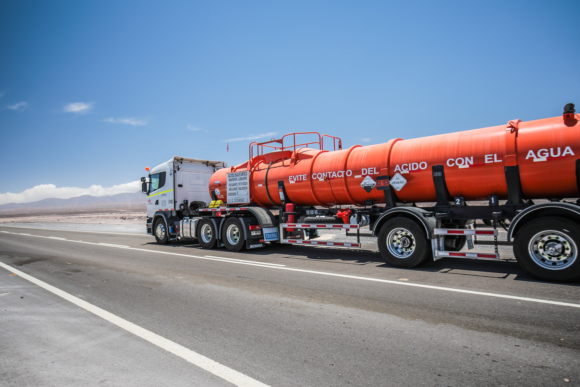 Scania Chile VI LR-147